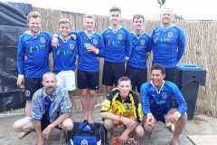 Voetbal-team-Beach-Event