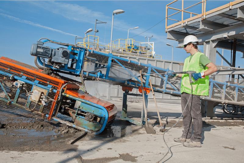 Uitzendbureau industrieel reiniger